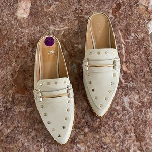 Joie Taran Leather Mule Shoes New without box